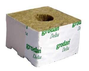 "4"" Grodan Cube Single"