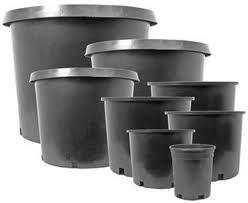 Round Plant Pot 1L