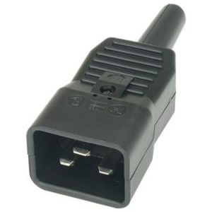 16A Male IEC plug - 1000w